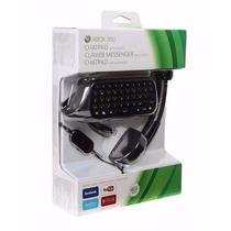 Chatpad Headset Xbox 360 Teclado + Fone De Ouvido Aproveite!