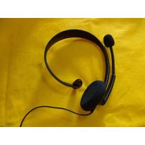 Fone Ouvido Original Xbox 360 Headset - Microsoft Original