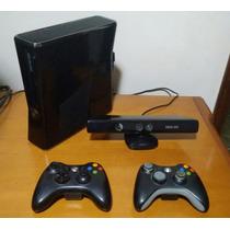 Xbox 360 250gb + Kinect + 2 Controles Barato!