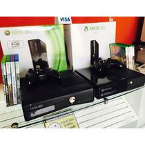Xbox 360 + 10 Jogos + Controle S/ Fio + Garantia
