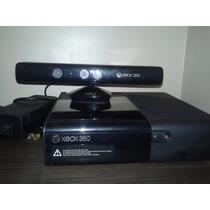 Xbox 360 + Kinect + 1 Manete +3 Jogos