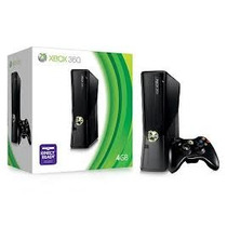 Xbox 360 Slim 4gb Semi Novo 1 Controle 5 Jogos Ac Trocas.