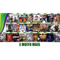 Xbox 360 +kinect+2 Contr+hd 1t Lotado De Jogos+2 Bat+carreg