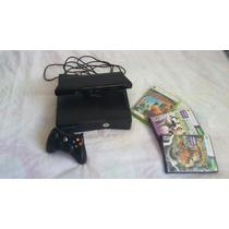 Vende-se Xbox 360 Com Kinect Um Controle E Mais 3 Jogos