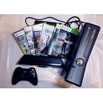 Xbox 360 Completo Com Kinect