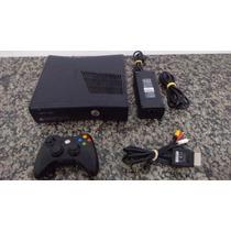 Xbox 360 Slim 10travado Controle + Jogos