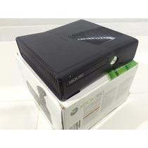 Xbox 360 Slim 250gb Travado + 10 Jogos Originais