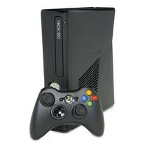 Xbox 360 4gb Slim Original - Com Jogo Pes 2013 - Completo