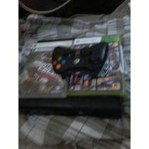 Xbox360 Com 500gb E Jogos (sem O Gta)