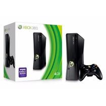 Xbox 360 Slim 4gb + Console Novo Grarantia 90 Dias