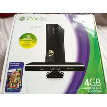 Exbox 360 Com Kinect Ótimo Preço
