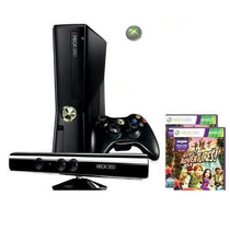 Xbox 360 + Kinect + Dsblqd + 2 Controles S/fio + Div. Jogos