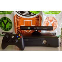 Xbox 360 Slim 250gb Kinect + 24 Jogos