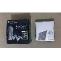 Xbox 360 Slim Halo Edition C/hd De 250gb + 2 Controles !!