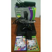 Xbox 360 Bloqueado + Gta 5 + Kinect + Hd 250gb - Semi Novo