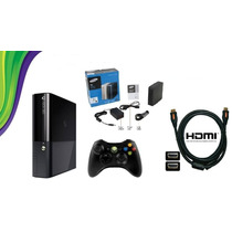 Xbox 360 S. Slim 4gb Jtag + Hd 400 Jogos + Roda Dvd E Hd