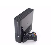 Xbox 360 Super Slim 4gb + 2 Controle Joga Na Live Semi Novo