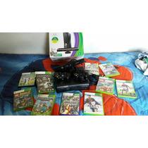 Xbox Completo Com 10 Jogos 2 Manete Com Cabo Hdmi Kinect