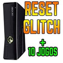 Xbox 360 Slim 4gb Jtag +2controle +kinect + 10jogos Garantia
