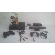 Xbox 360 Kinect Headset Battlefield Hd 320 Hdmi Fonte Cabos