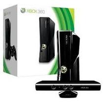 Xbox 360 250gb Novo Na Caixa + Kinect Usado Leia A Descrição