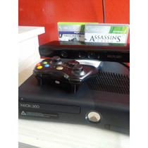 Xbox 360 Com Kinet E 1 Controle +2jogos Originais.