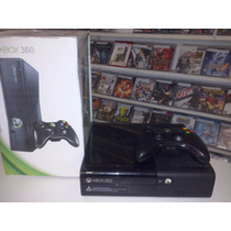 Xbox 360 Super Slim 1 Controle 250gb + Kinect 2 Jogos