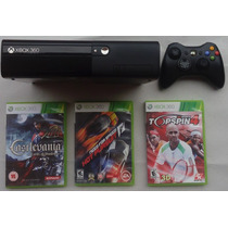 Video Game Xbox 360 Super Slim 4gb Superslim Garantia 3 Mês