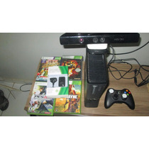 Xbox 360 Slim 4gb Completo + 1 Jogo Aceito Trocas 550,00