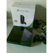 Xbox 360 Super Slim - 4gb + 500gb C/ 60 Jogos - Trocas Cpu