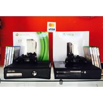 Xbox 360 + 12 Jogos ( Roda Todos Os Jogos ) + Garantia .
