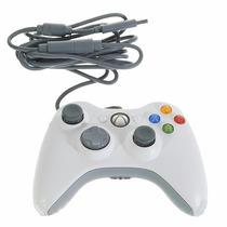 Controle Xbox 360 Pc Usb Original Microsoft C/ Fio Wireless