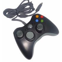 Controle Xbox 360 Usb Pc Original Microsoft C/ Fio Wireless