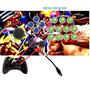 Controle Arcade Tipo Fliperama Xbox 360 / Pc Com Analogico!