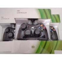 Xbox - Controle Com Fio Xbox 360 E Pc - Imports - Novo