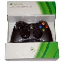 Controle Xbox 360 Sem Fio Original Pronta Entrega Novo