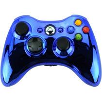 Controle Xbox 360 Chrome Series Wireless Sem Fio Microsoft