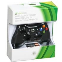 Controle Xbox 360 Slim Sem Fio Wireless Original + Lacrad