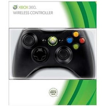 Controle Wireless Microsoft Preto - Xbox 360 Original