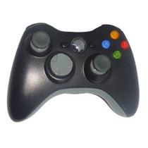 Kit Controle Sem Fio Xbox 360 + Bateria Carregador - Feir