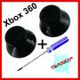 Botões Analógicos Xbox 360 Black Original + Chave Tork T8