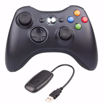 Joystick Xbox 360 + Receiver Controle Wireless P/ Pc G18