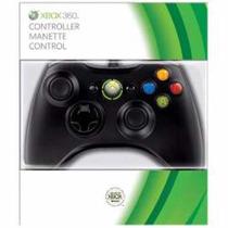 Controle Xbox360/pc Com Fio Preto -original Microsoft