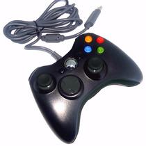 Controle Joystick Para Xbox 360 E Pc Original Feir Com Fio