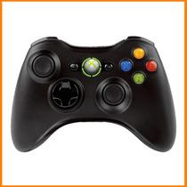 Controle C/ Fio Xbox 360 Preto E Pc Slim Joystick Feir Cabo
