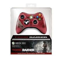 Controle Wireless Tomb Raider Limited Edition Para Xbox 360