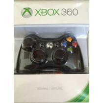 Controle Xbox 360 Wireless Preto 100% Original