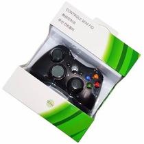 Joystick Para Xbox 360 Preto Sem Fio Wireless!