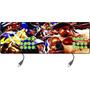 Controle Arcade Duplo Tipo Fliperama / Xbox 360 & Pc Com Fio