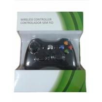 Controle Xbox 360 Wireless Sem Fio Original Feir